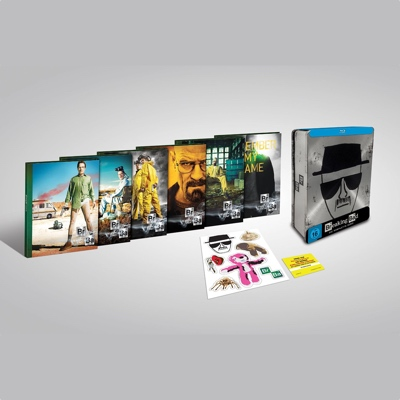 Breaking Bad Serienbox als Blu Ray