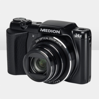günstige Digitalkamera Megapixel Medion Life P44024