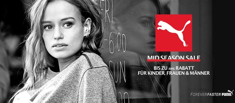 Puma Sale 50% Rabatt für Frauen Kinder und Männer