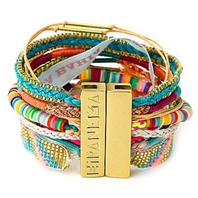 mehrfarbiges Hippie-Armband HIPANEMA