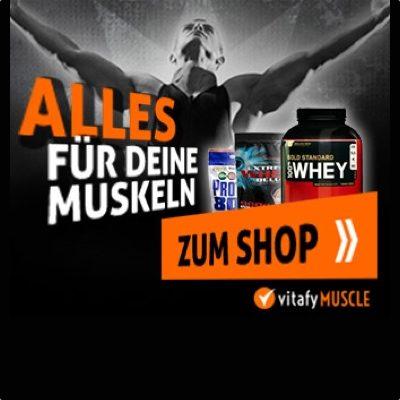 vitafy.de Gutschein 10 Euro und 20 Euro Rabatt