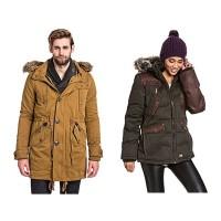 KHUJO Winterjacken für Frauen und Männer unter 100 Euro