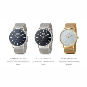 günstige Uhren für Frauen und Männer bis 100 Euro