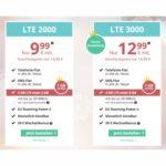unter 10 Euro Allnet Flat Eu Flat 3 GB LTE surfen