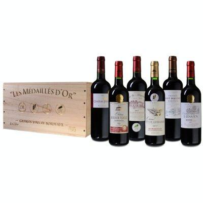 Rotwein Bordeaux Probierkiste