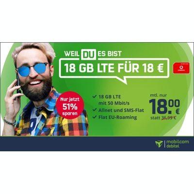 Günstig Vodafone Handyvertrag